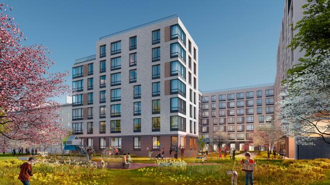 Housing project on the Dvinskaya Street