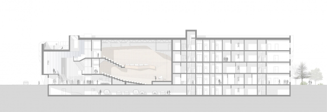 Музыкальная школа с концертным залом в Выборге