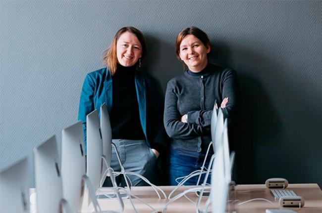 Елизавета Землянова и Анастасия Петрова