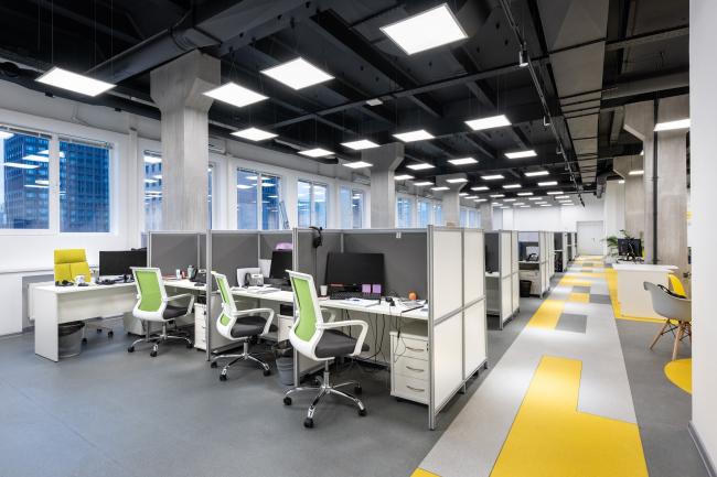 3-й этаж рабочая зона. Офис MANGO TELECOM