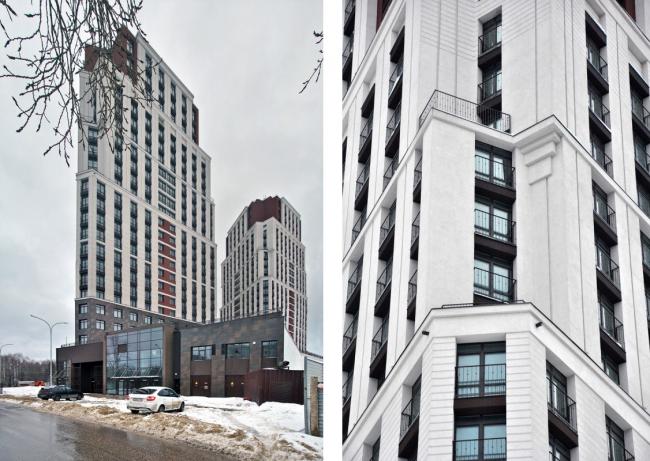 Атлант / Двойное эскимо. Первая очередь жилого комплекса по ул. Родионова