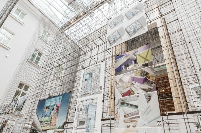 Студия 44. Анфилада. Открытие выставки, 02.2020