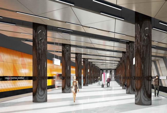 Станция метро «Улица Генерала Тюленева»