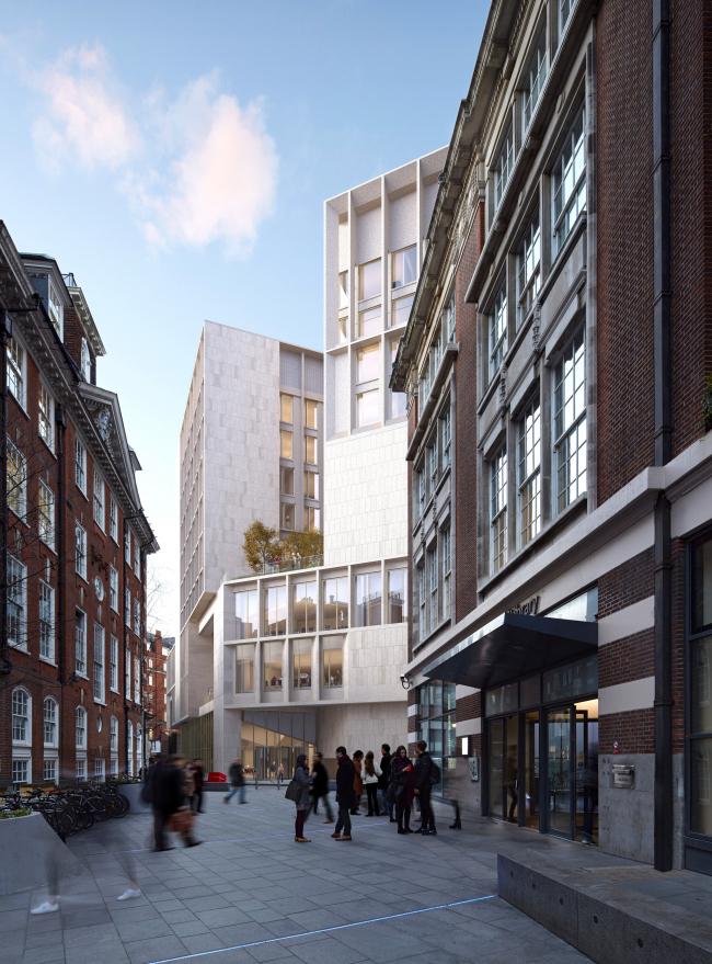 Лондонская школа экономики и политологии. В ходе строительства