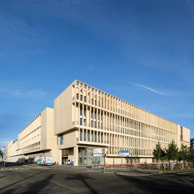 Инженерный институт Institut Mines-Télécom в Палезо близ Парижа. 2019