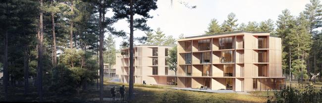 Апартаменты. Концепция эко-отеля «Волна»