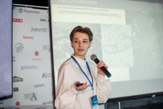 Анна Данилова, (КАДР №26), победитель ArchYouth в категории «Студенты колледжей»