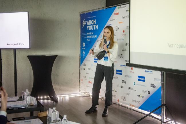 Валерия Джигиль (СПбГАСУ), победитель ArchYouth в категории «Студенты ВУЗов»