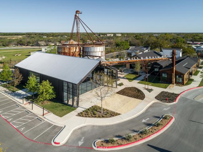 Комплекс Buda Mill & Grain Co.