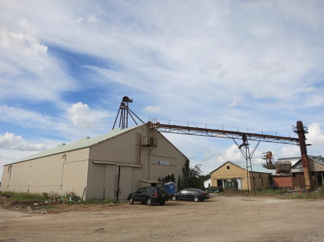 Комплекс Buda Mill & Grain Co.м Вид до начала реконструкции
