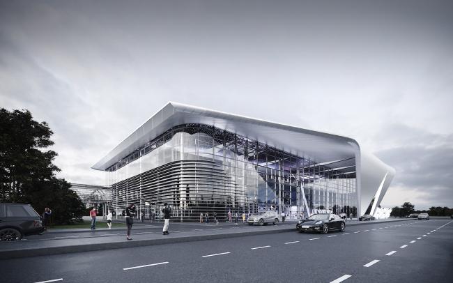 Passenger terminal of the Kemerovo Airport