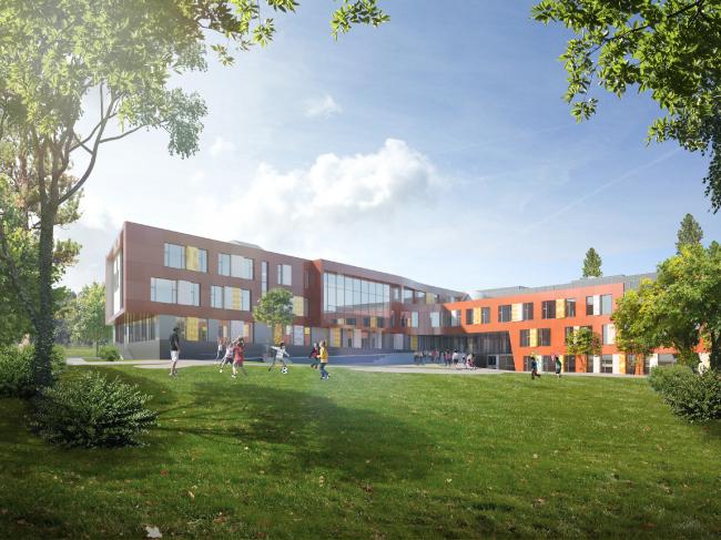 Школа на 2100 мест в Троицке