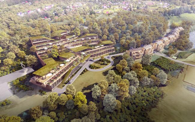 Гостиничный комплекс Amber Residence в поселке Янтарный