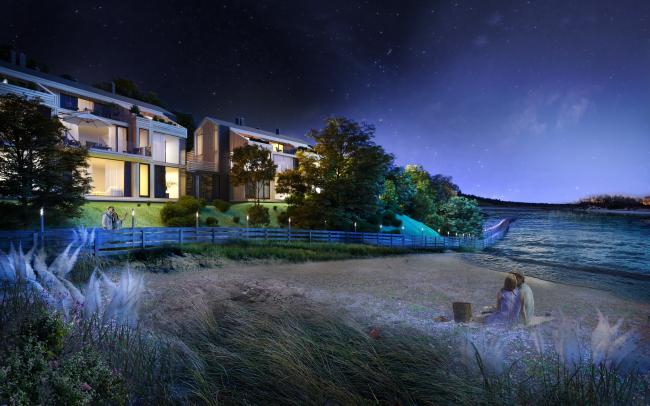 Гостиничный комплекс Amber Residence. Таунхаусы