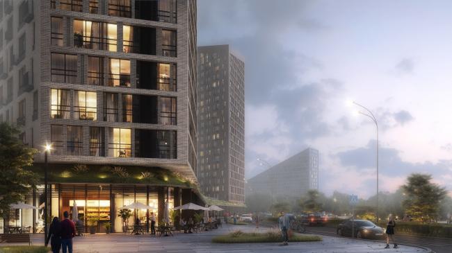 """Zurbagan"" housing project. Concept for Voronezh, 2018"