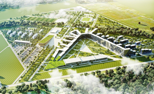 Complex of the Sakhalin University, 2013, a project