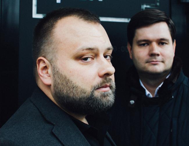 Сергей Никешкин и Андрей Михайлов