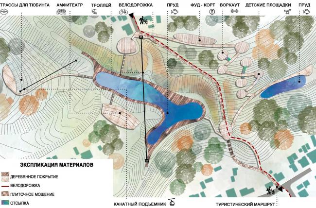 Создание парка «Крымская горка» в г. Новохоперск