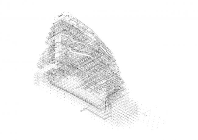 Forum Groningen. BIM-модель
