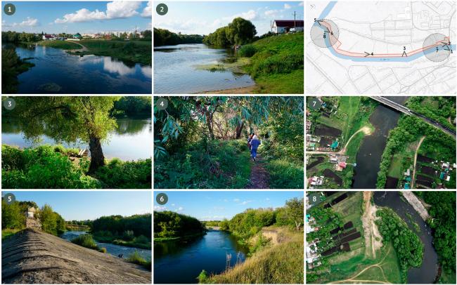 Фотофиксация. Благоустройство набережной реки Дон в г. Данкове