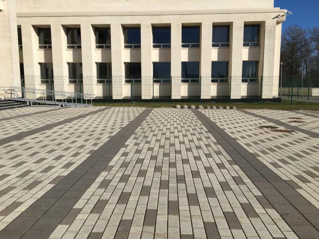 Реставрационно-хранительский центр «Старая деревня» на Заусадебной улице, март 2020