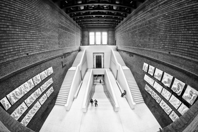 Новый музей в Берлине. Реконструкция. 2009. David Chipperfield Architects