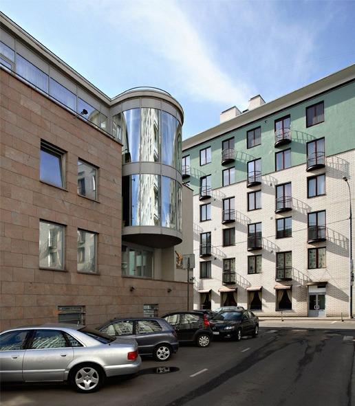 Офисное здание в 3-м Зачатьевском переулке