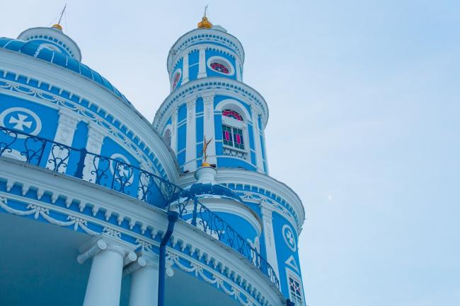 Церковь Казанской иконы Божией Матери в селе Тельма, Иркутской области