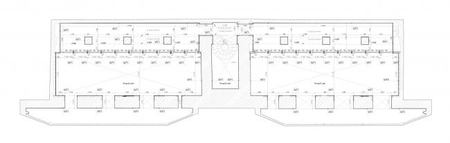 План 2-го этажа. Шоу-рум и ателье для бренда Rasario