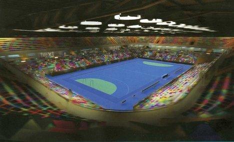 Олимпийский гандбольный стадион. Предварительный проект