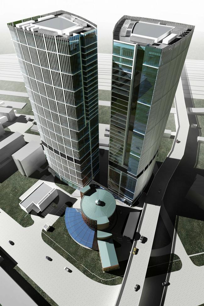 Многофункциональный административно-деловой комплекс, Ходынская улица © ТПО «Резерв»