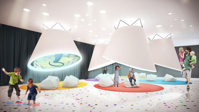 Концепция реконструкции павильона «Аниматека»
