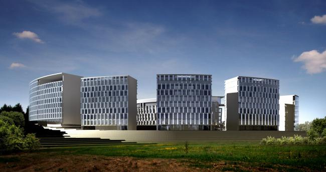 «Сколково-парк», проект, 2010 © ТПО «Резерв»