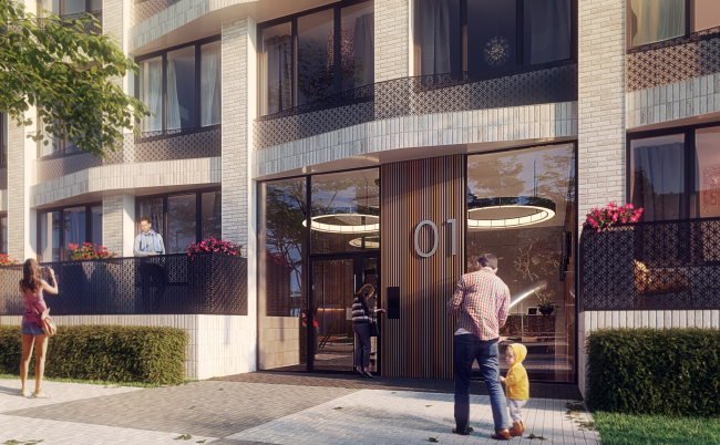 High-end residential complex Vitality