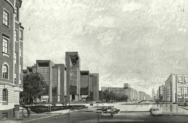 Перспектива Тургеневской площади