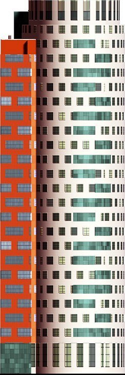 Жилой дом с нежилыми помещениями и подземной автостоянкой, Кастанаевская улица © Архитектурно-дизайнерская мастерская А. А. Чернихова