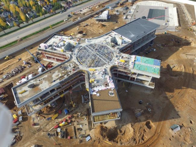 Школа Wunderpark, в процессе строительства