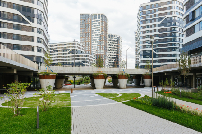 """""""Simvol"""" residential complex (Stage 1B)"""