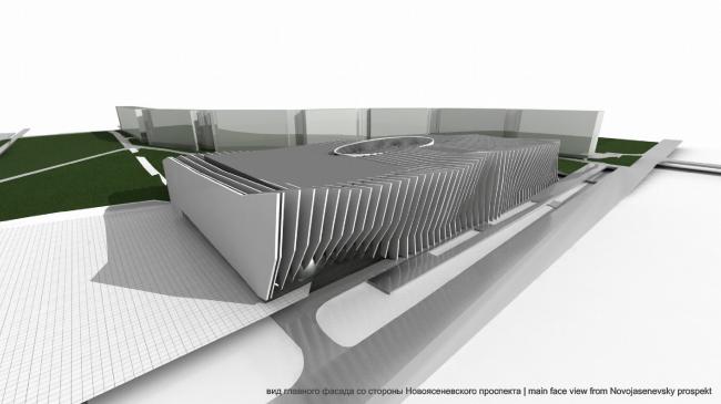 Торгово-досуговый центр «Ясенево» © Архитектурно-дизайнерская мастерская А. А. Чернихова