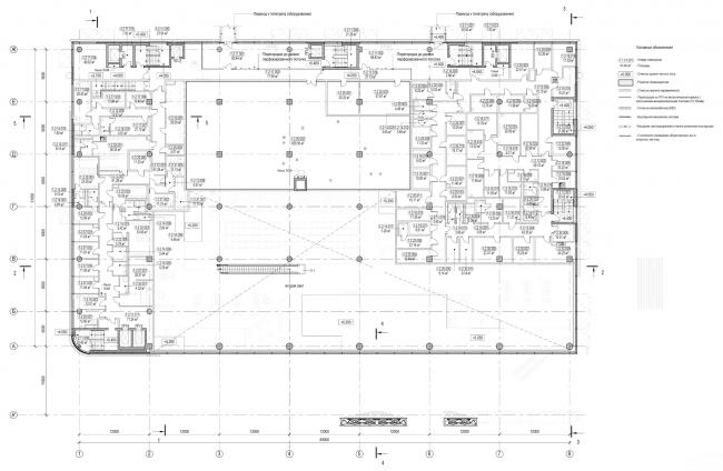 План на отметке 5,400. Пассажирский терминал аэропорта в Кемерово