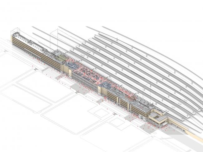 Штаб-квартира SNCB (Национального общества бельгийских железных дорог)