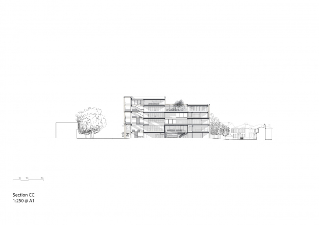 Корпус Town House Кингстонского университета