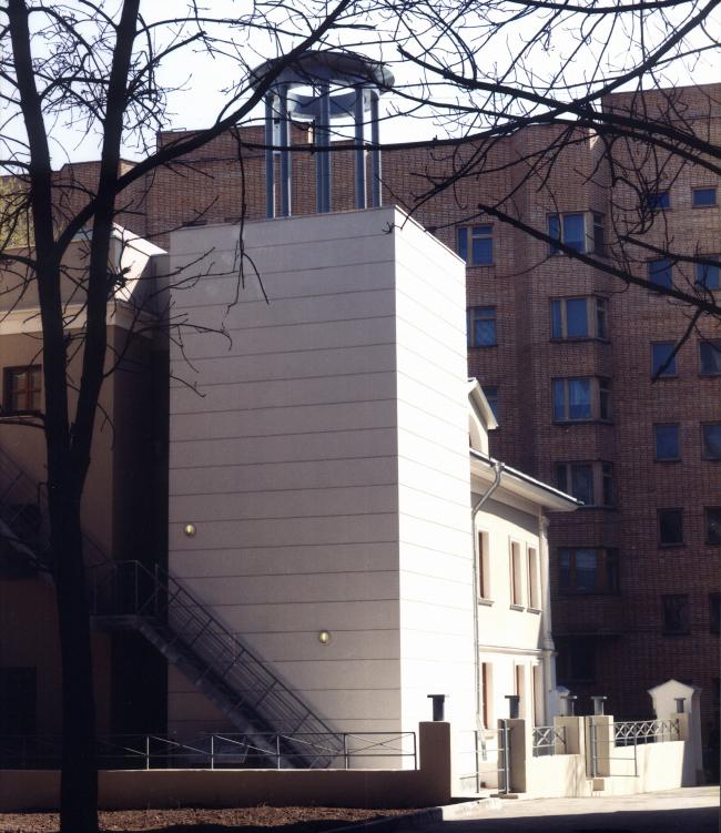 Здание телестудии ABC News & NHK на Мясковского © Алексей Бавыкин и партнёры