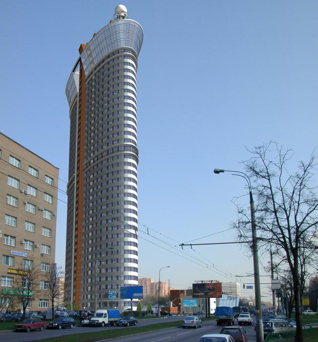 Жилой комплекс «Дирижабль», проект, 2004 © Мастерская архитектора Бавыкина