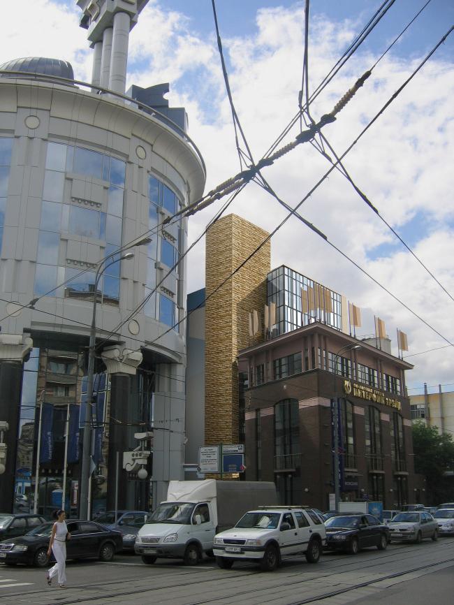 Многофункциональный комплекс с подземной автостоянкой на Лесной улице