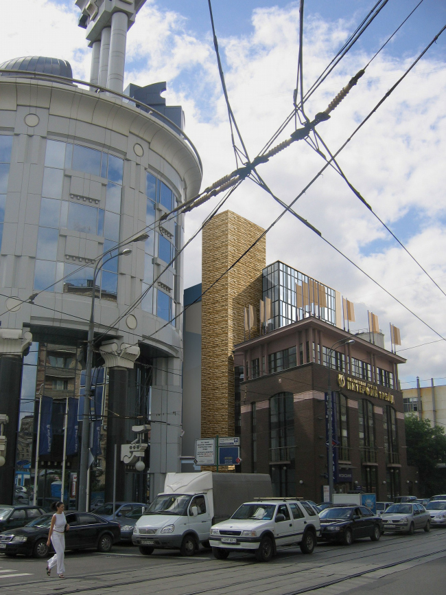 Miltifuctional complex at Lesnaia street