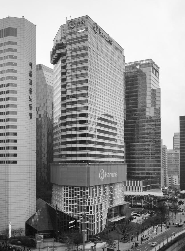 Штаб-квартира Hanwha. Вид до реконструкции