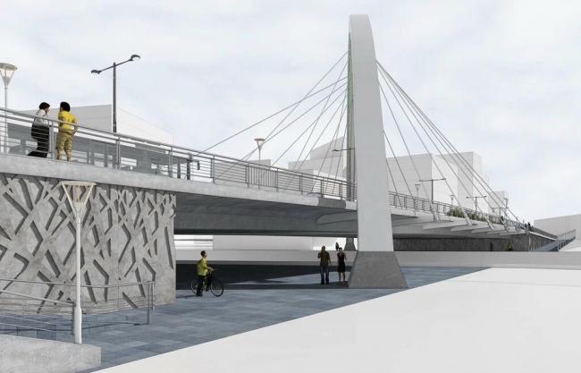 Автомобильный мост в районе Кунцево