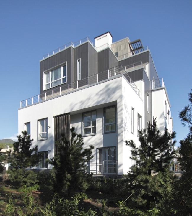 Корпус апартаментов А1.    Комплекс апартаментов и таунхаусов FELLINI
