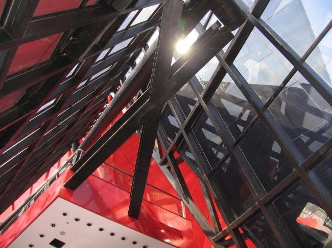 Павильон мебельного центра Greenland JSWB © Studio Odile Decq